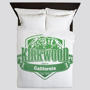 Kirkwood California Ski Resort 3 Queen Duvet